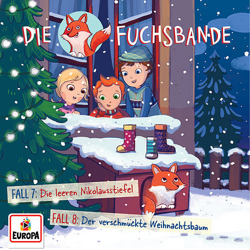 004/Fall 7: Die leeren Nikolausstiefel/Fall 8: Der verschmückte Weihnachtsbaum von Die Fuchsbande