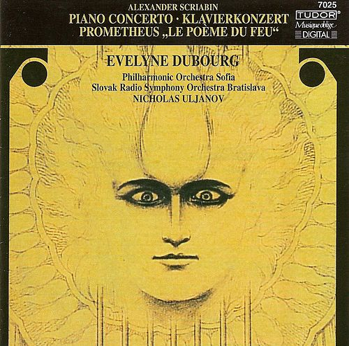 SCRIABIN, A.: Piano Concerto, Op. 20 / Prometheus (Dubourg, Sofia Philharmonic, Uljanov) fra Evelyn Dubourg