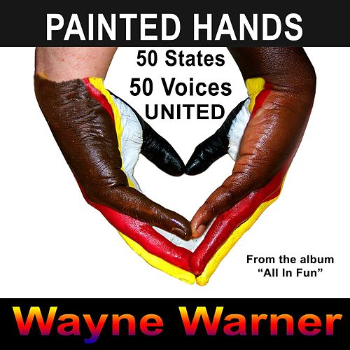 Painted Hands van Wayne Warner