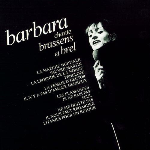 Chante Brassens Et Brel de Barbara