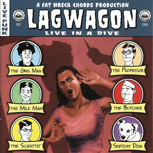 Live in a Dive von Lagwagon