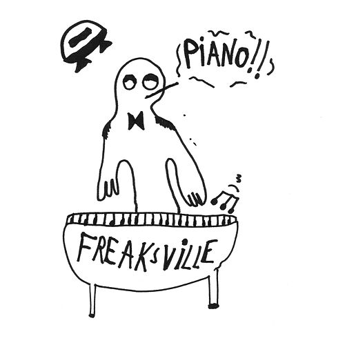 Freaksville Piano by Various Artists