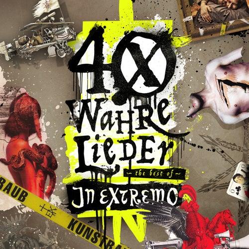 40 wahre Lieder - The Best Of von In Extremo