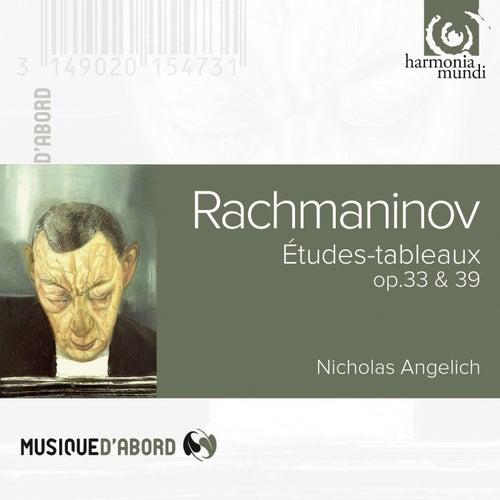 Rachmaninov: Etudes-tableaux, Op. 33 & 39 de Nicholas Angelich