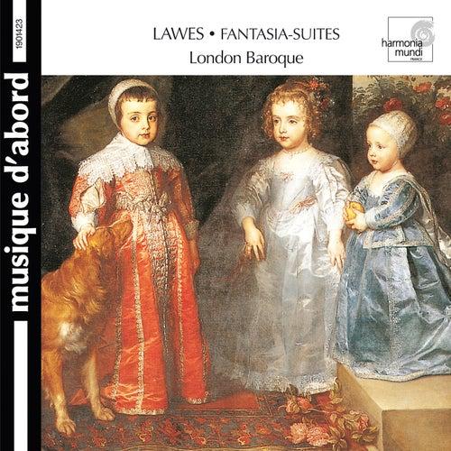 Lawes: Fantasia-Suites for Two Violins, Bass Viol & Organ de The London Baroque