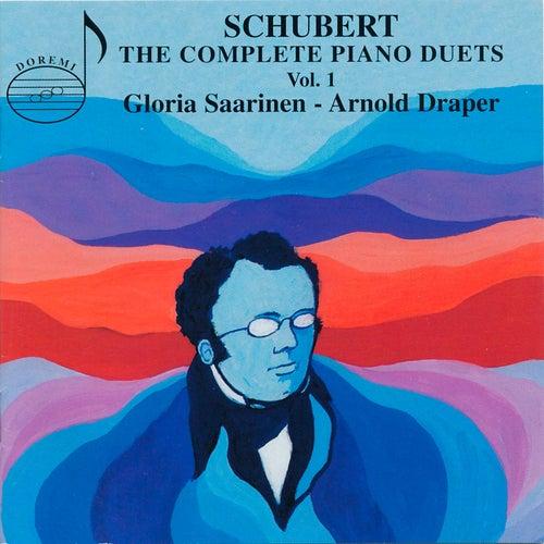 Schubert: The Complete Piano Duets, Vol. 1 by Gloria Saarinen