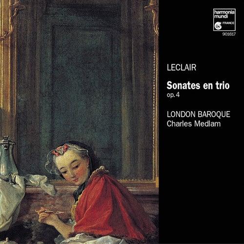 Leclair: Sonates en trio, Op. 4 de The London Baroque