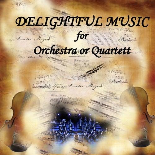 Delightful Music for Orchestra or Quartet, vol.1 by Östergötlands Sinfonietta