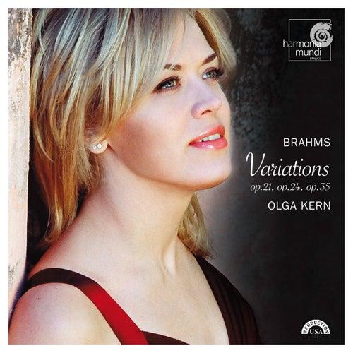 Brahms: Variations de Olga Kern
