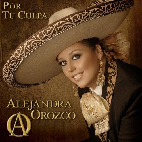 Por Tu Culpa de Alejandra Orozco