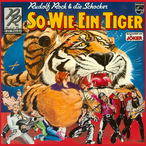 So wie ein Tiger by Rudolf Rock