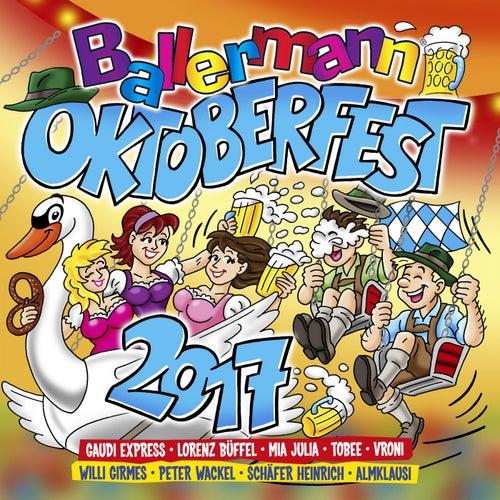Ballermann Oktoberfest 2017 von Various Artists
