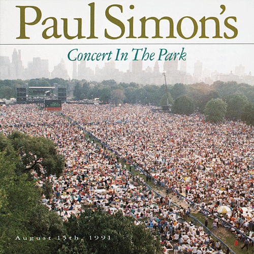 Paul Simon's Concert In The Park de Paul Simon