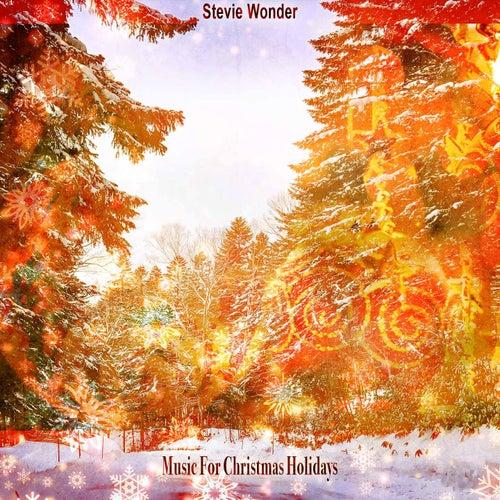 Music For Christmas Holidays de Stevie Wonder