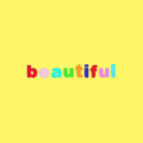 Beautiful de Bazzi : Napster