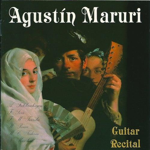 Guitar Recital by Agustin Maruri