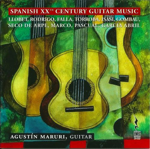 Spanish XXth Century Guitar Music by Agustin Maruri