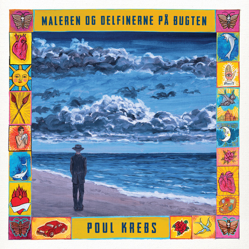 Maleren Og Delfinerne På Bugten by Poul Krebs