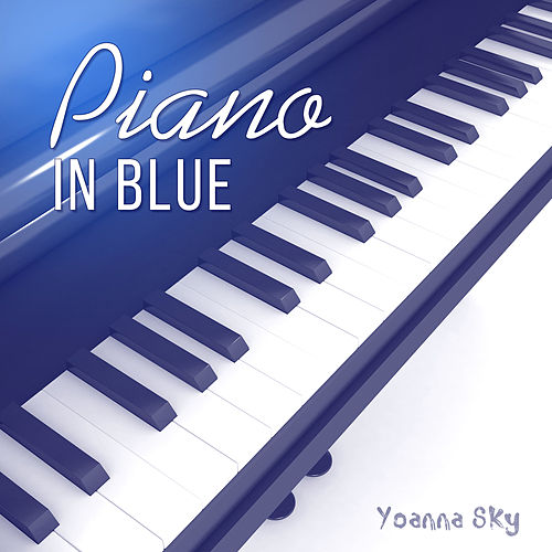Piano in Blue by Yoanna Sky