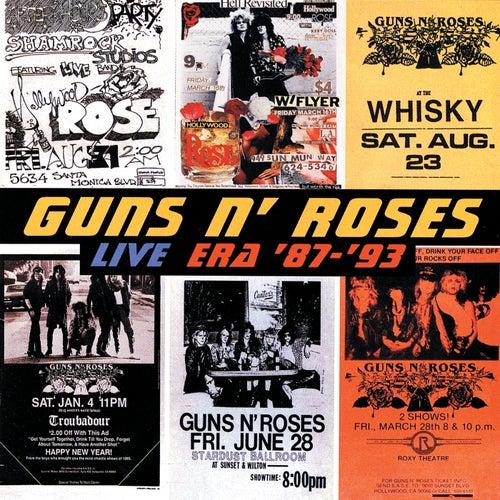 Live Era: '87-'93 [Clean] by Guns N' Roses