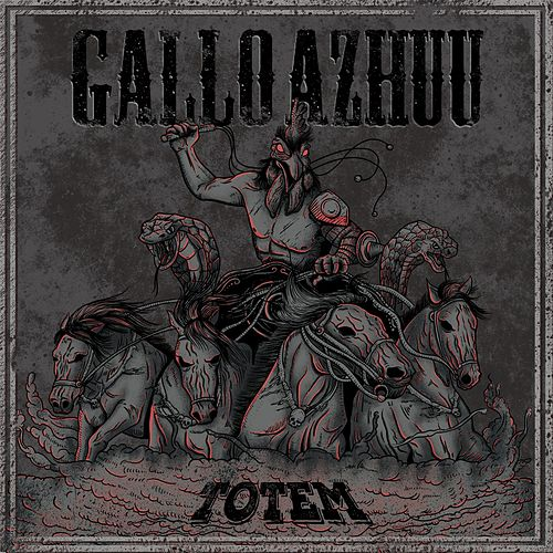 Totem de Gallo Azhuu