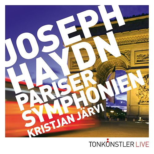 Pariser Symphonien von Kristjan Järvi
