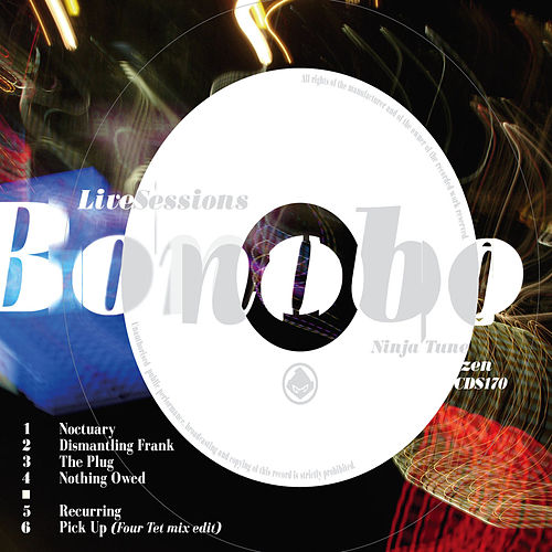 Recurring - The Live Sessions EP de Bonobo