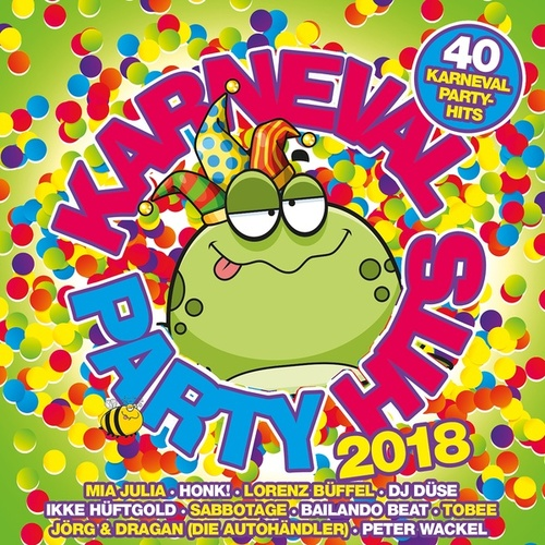Karneval Party Hits 2018 von Various Artists