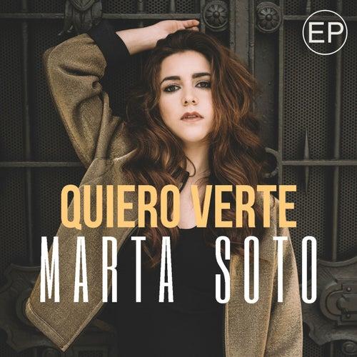 Quiero verte EP de Marta Soto