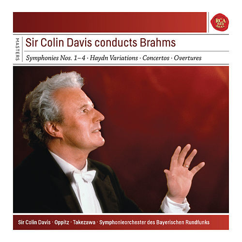 Brahms: The 4 Symphonies & Haydn Variations & Piano Concertos by Sir Colin Davis
