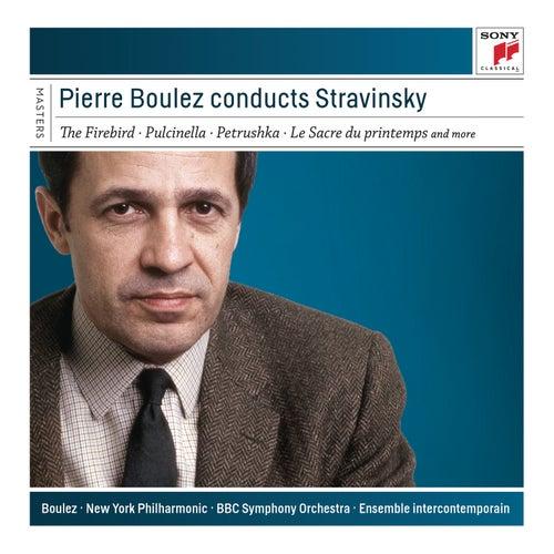 Pierre Boulez Conducts Stravinsky de Pierre Boulez