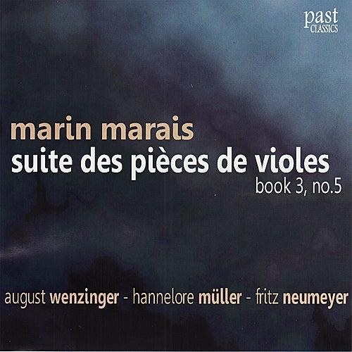 Marais: Suite des pièces de violes, Book 3, No. 5 by August Wenzinger