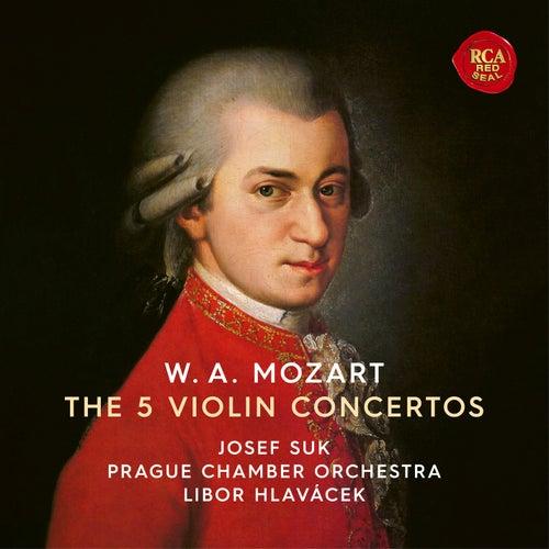 Mozart: Violin Concertos Nos 1-5 de Josef Suk