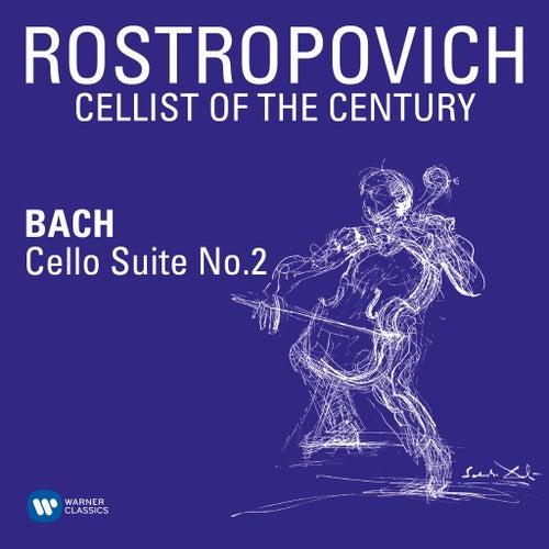 Bach: Cello Suite No. 2 in D Minor, BWV 1008 de Mstislav Rostropovich
