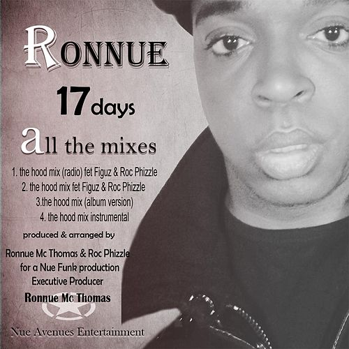 17 Days All the Mixes by Ronnue