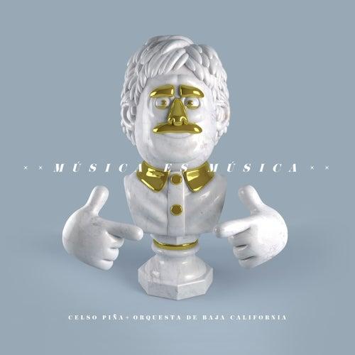 Música es Música (feat. Orquesta de Baja California) de Celso Piña