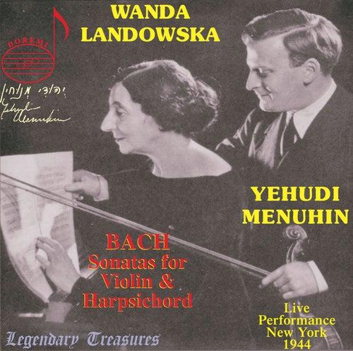 Yehudi Menuhin, Vol. 2: Bach Sonatas for Violin & Harpsichord by Yehudi Menuhin