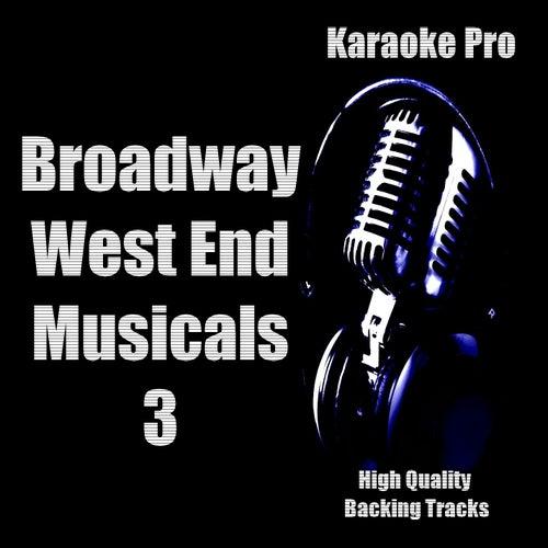 Karaoke Pro - Broadway West End Musicals 3 by Karaoke Pro (1)