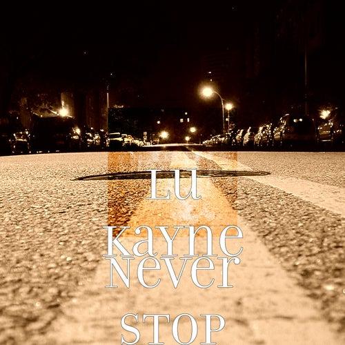 Never Stop by Lu KaYne