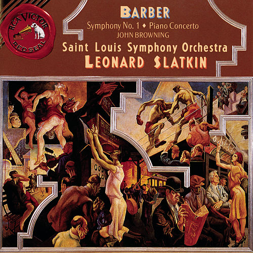 Concerto and Symphony No. 1 de Samuel Barber
