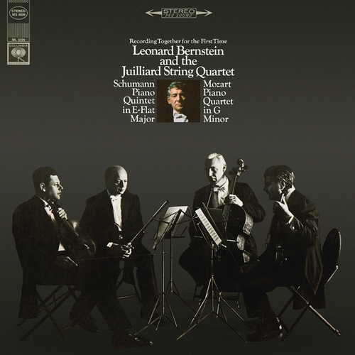 Schumann: Piano Quintet in E-Flat Major, Op. 44 - Mozart: Piano Quartet No. 1 in G Minor, K. 478 (Remastered) von Leonard Bernstein