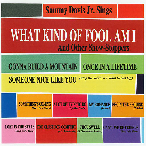 What Kind Of Fool Am I & Other Show Stoppers by Sammy Davis, Jr.