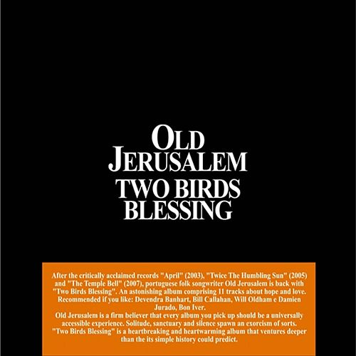 Two Birds Blessing by Old Jerusalem