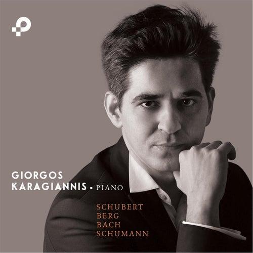 Schubert, Berg, Bach, Schumann von Giorgos Karagiannis