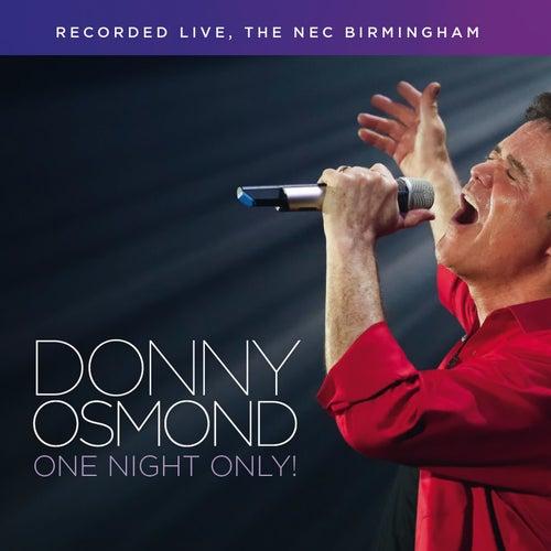 One Night Only (Live) von Donny Osmond