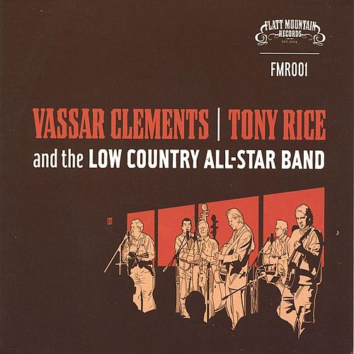 Vassar Clements, Tony Rice and the Low Country All Stars by Tony Williamson