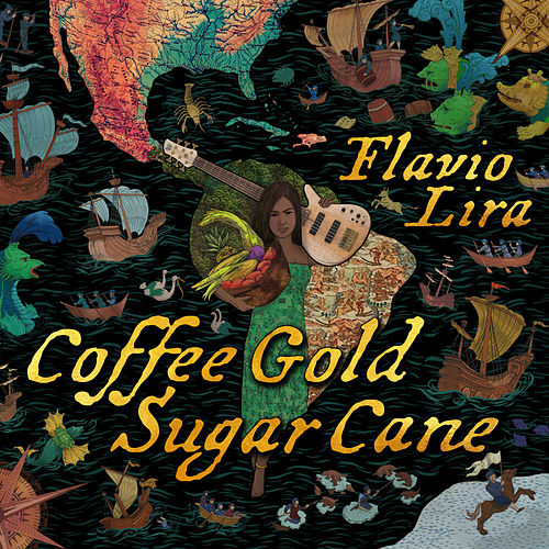 Coffee Gold Sugar Cane by Flavio Lira