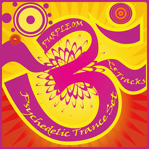 Purple OM - Psychedelic Trance Set (25 Tracks) by Various Artists