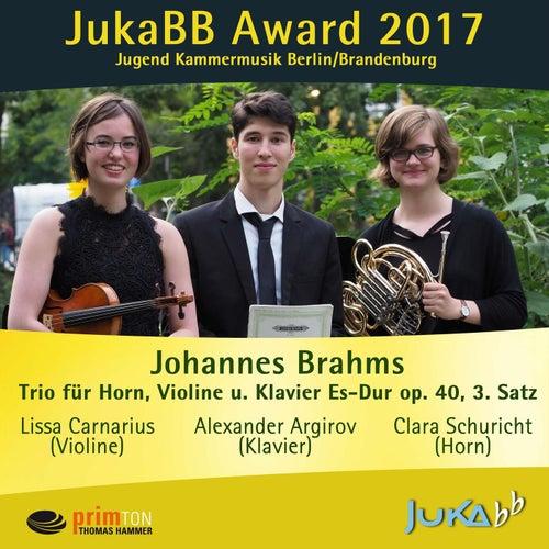 Trio für Horn, Violine und Klavier E-Flat Major, op. 40: III. Adagio mesto by Clara Schuricht
