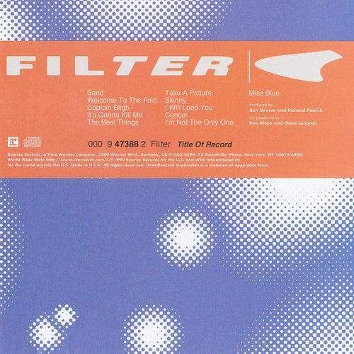 Title Of Record de Filter